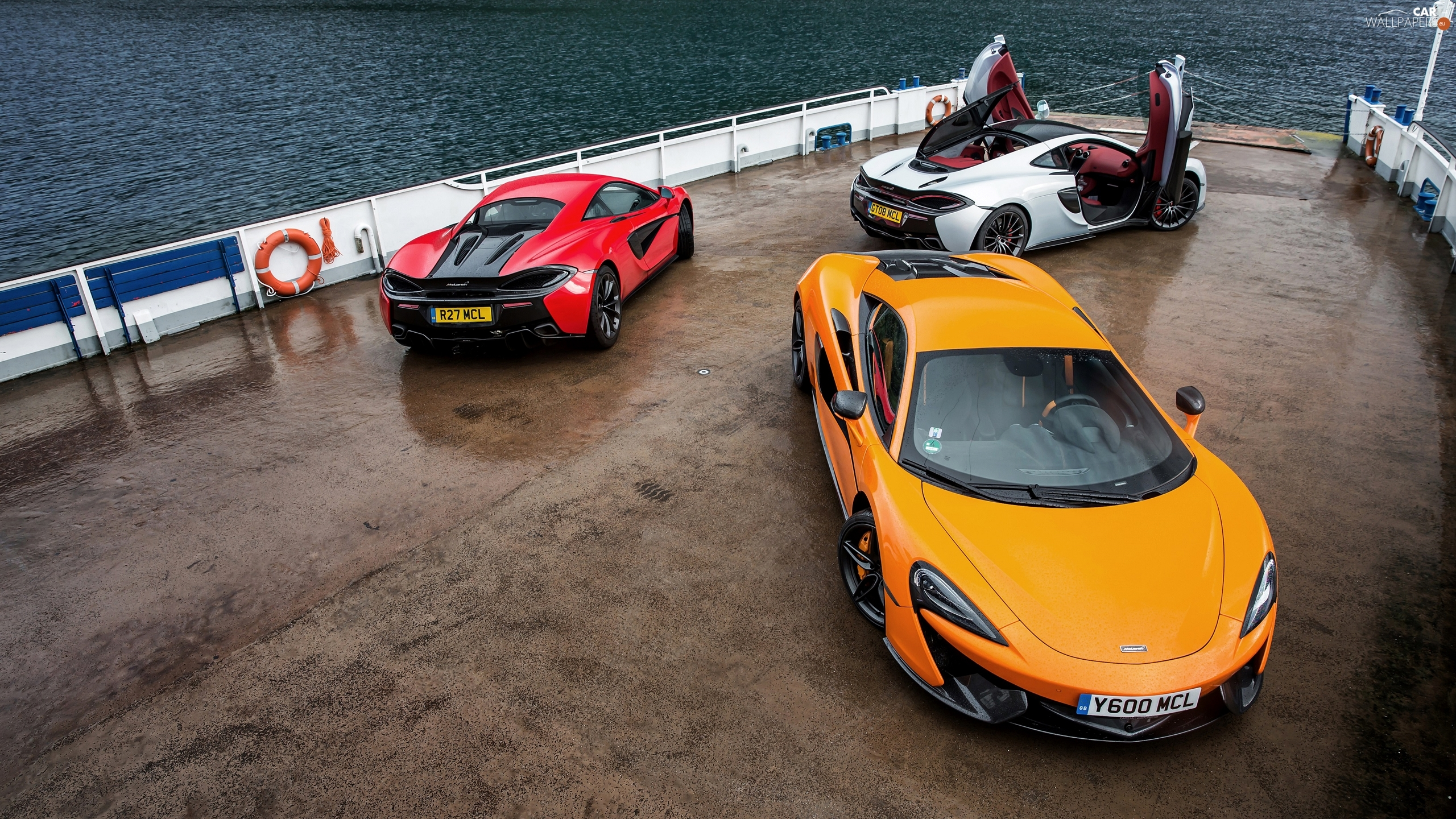 cars, McLaren, Three