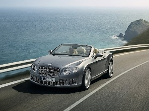 Bentley Continental GTC, Mask, Front
