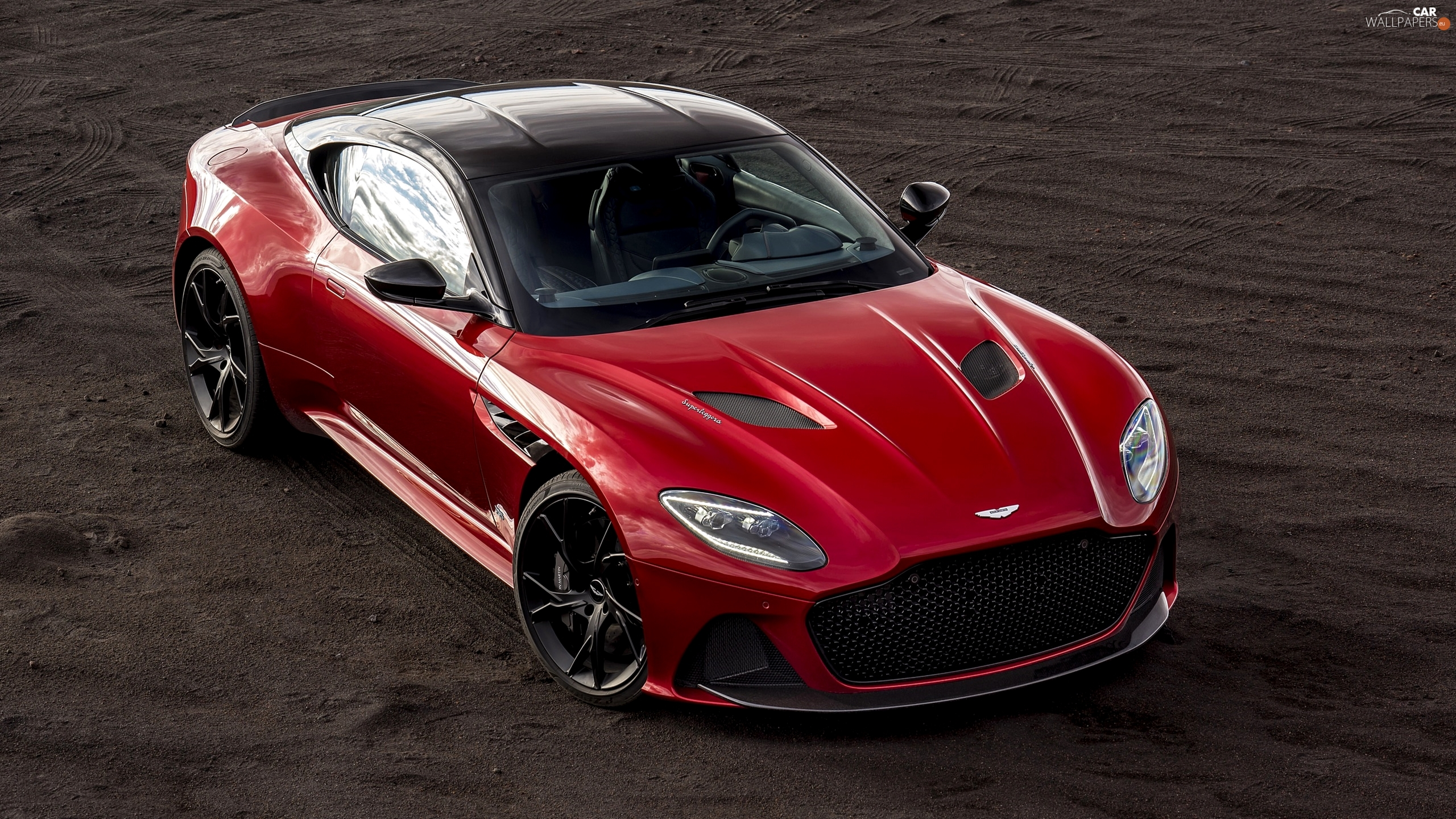 Red, Aston Martin DBS Superleggera
