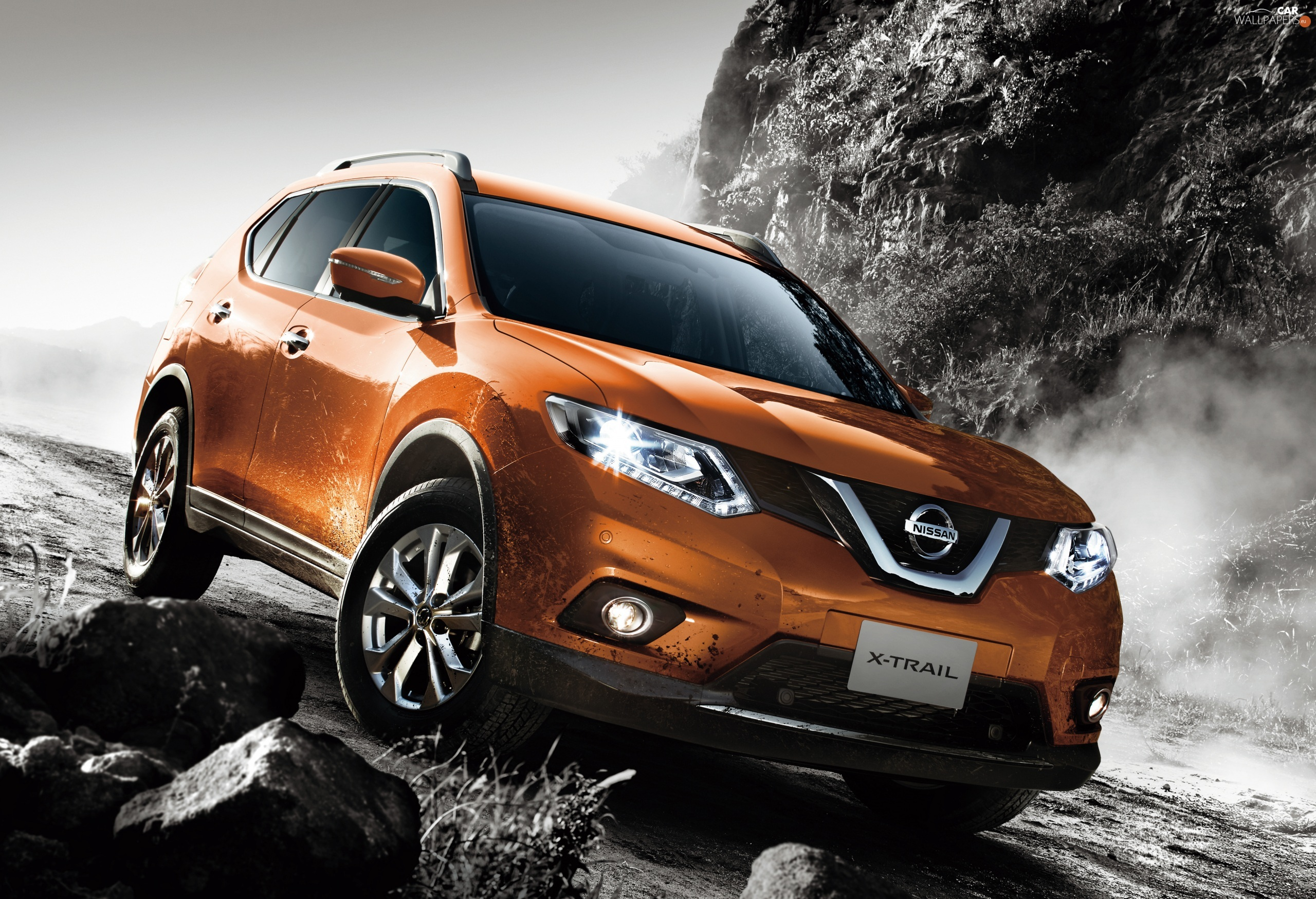 2013, copper, Nissan X-Trail III T32 Crossover