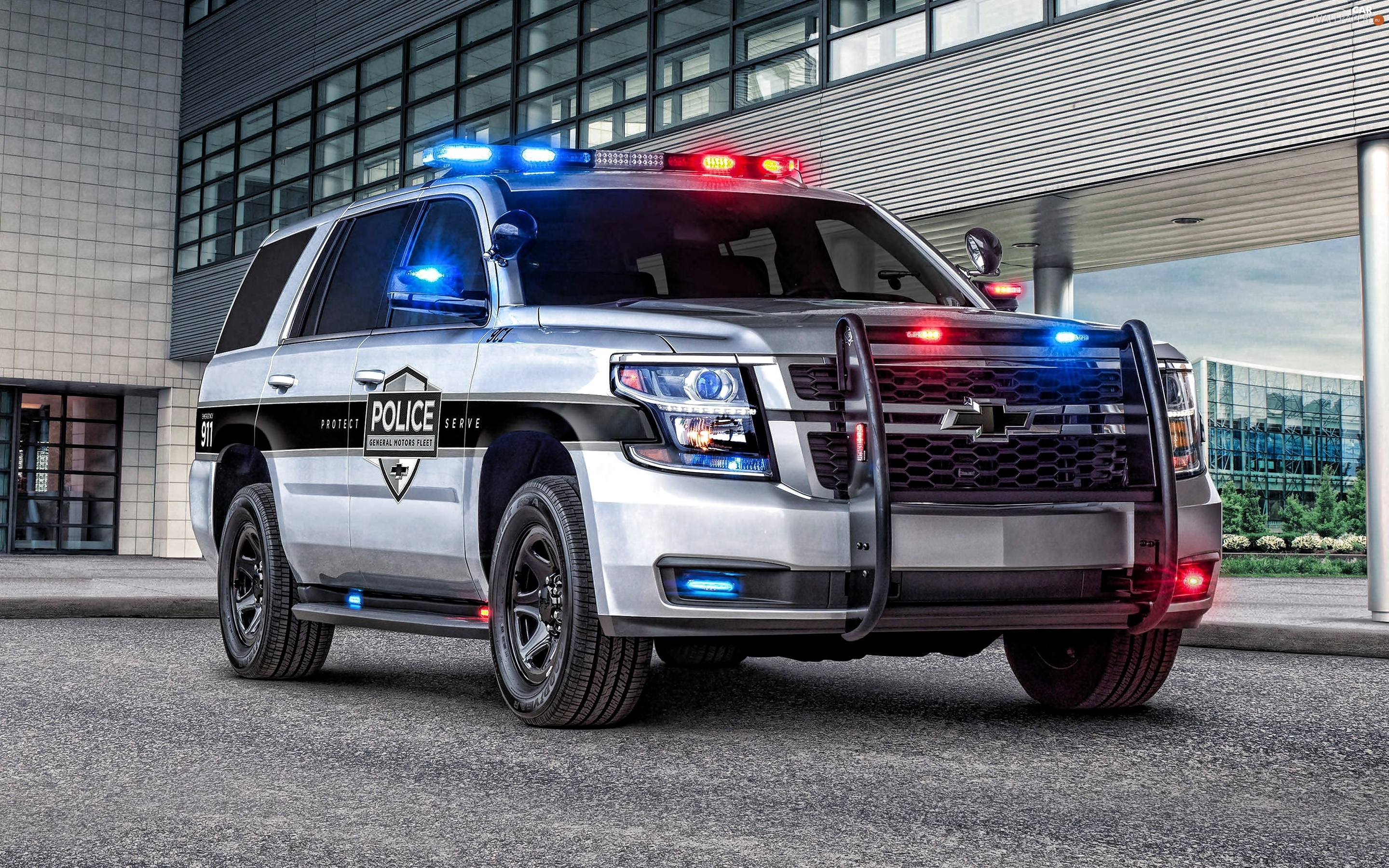 Police Car, Chevrolet Tahoe