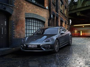 house, Porsche Panamera Turbo, 2016
