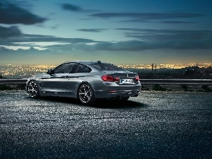 BMW 435i, Above the Town