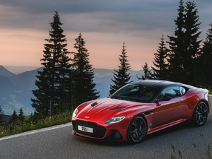 Red, Superleggera, Way, Aston Martin DBS