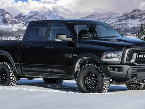 side, Black, Dodge Ram 1500