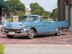 Cadillac Eldorado, The historic car, blue