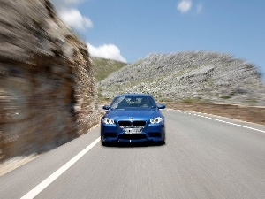 picture, BMW F10, blurry