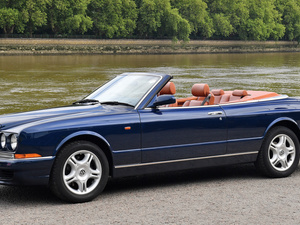 side, Bentley Azure, Cabriolet