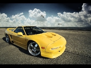 right, Acura NSX, Coast, side