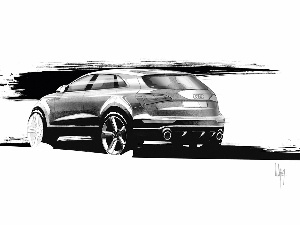 Project, Audi Q5, Drawing