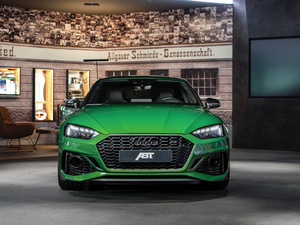 Audi RS5, coupe, green ones, ABT