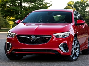 Front, Buick Regal GS