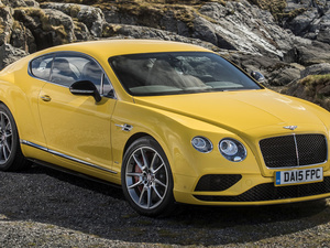 Yellow, Bentley Continental GT