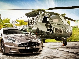 Aston Martin DBS, Helicopter