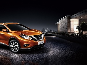 Nissan Murano, Street, Houses, Crossover