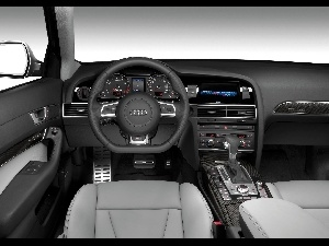 RS6, Audi RS, interior