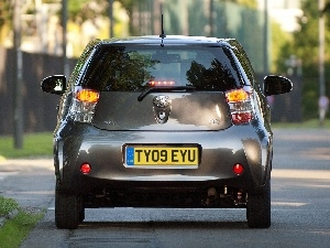 Back, Toyota iQ, Lamps