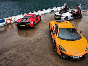 McLaren, Three, cars