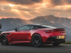 Aston Martin DBS, Mountains, Way, Superleggera