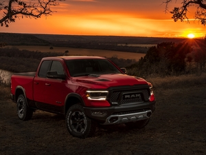 Great Sunsets, Dodge Ram 1500, 2019