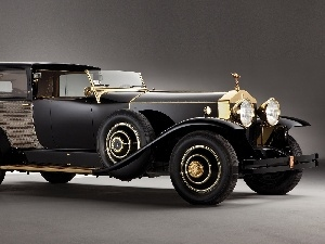Rolls-Royce, Automobile, Retro