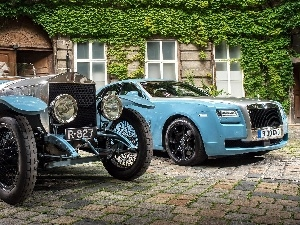 house, cars, Rolls-Royce