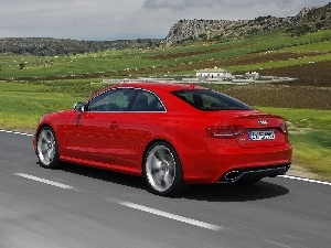 Red, Audi RS5