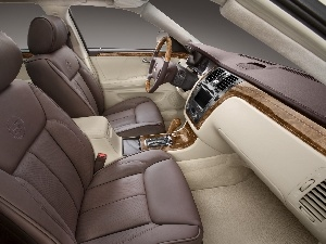 leathers, Cadillac DTS, seats