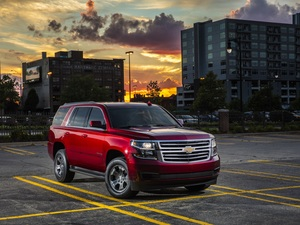 2018, Red, Chevrolet Tahoe