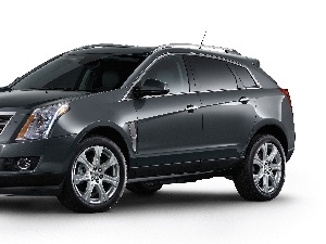 windows, Cadillac SRX, tinted