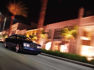 night, Bentley Azure, Town
